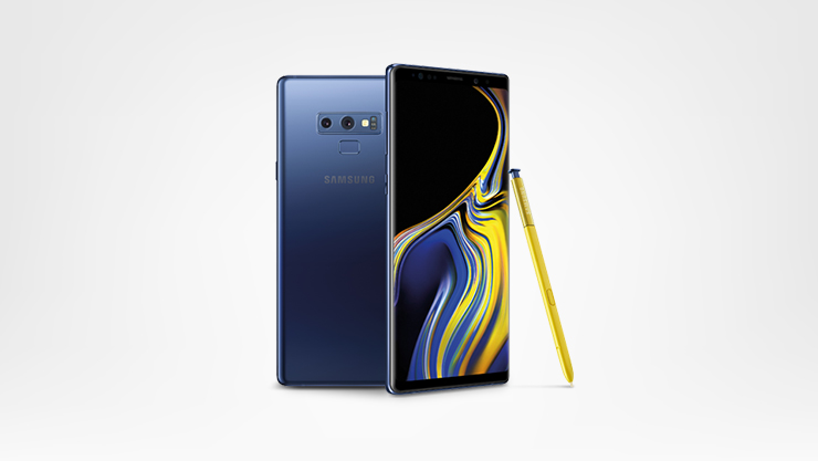 Samsung Note 9 and stylus