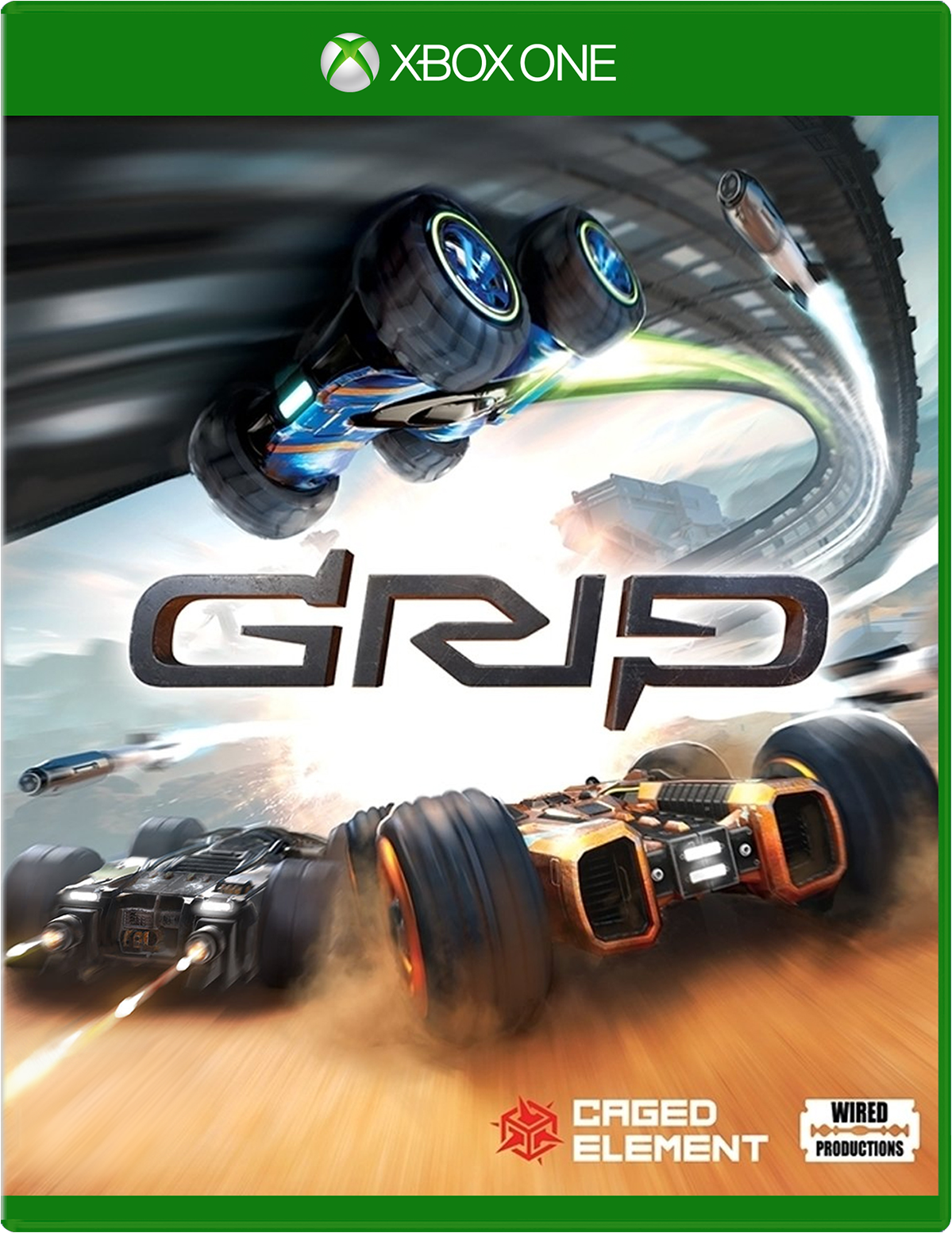 Cover of GRIP: Combat Racing for Xbox One