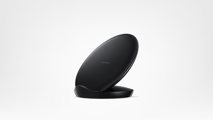Surface wireless charging stand