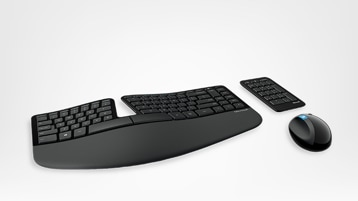 Keyboard and computer mouse