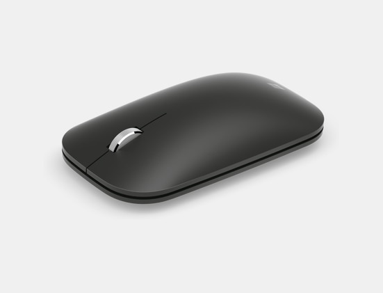 Front left view of the Surface Mobile Mouse