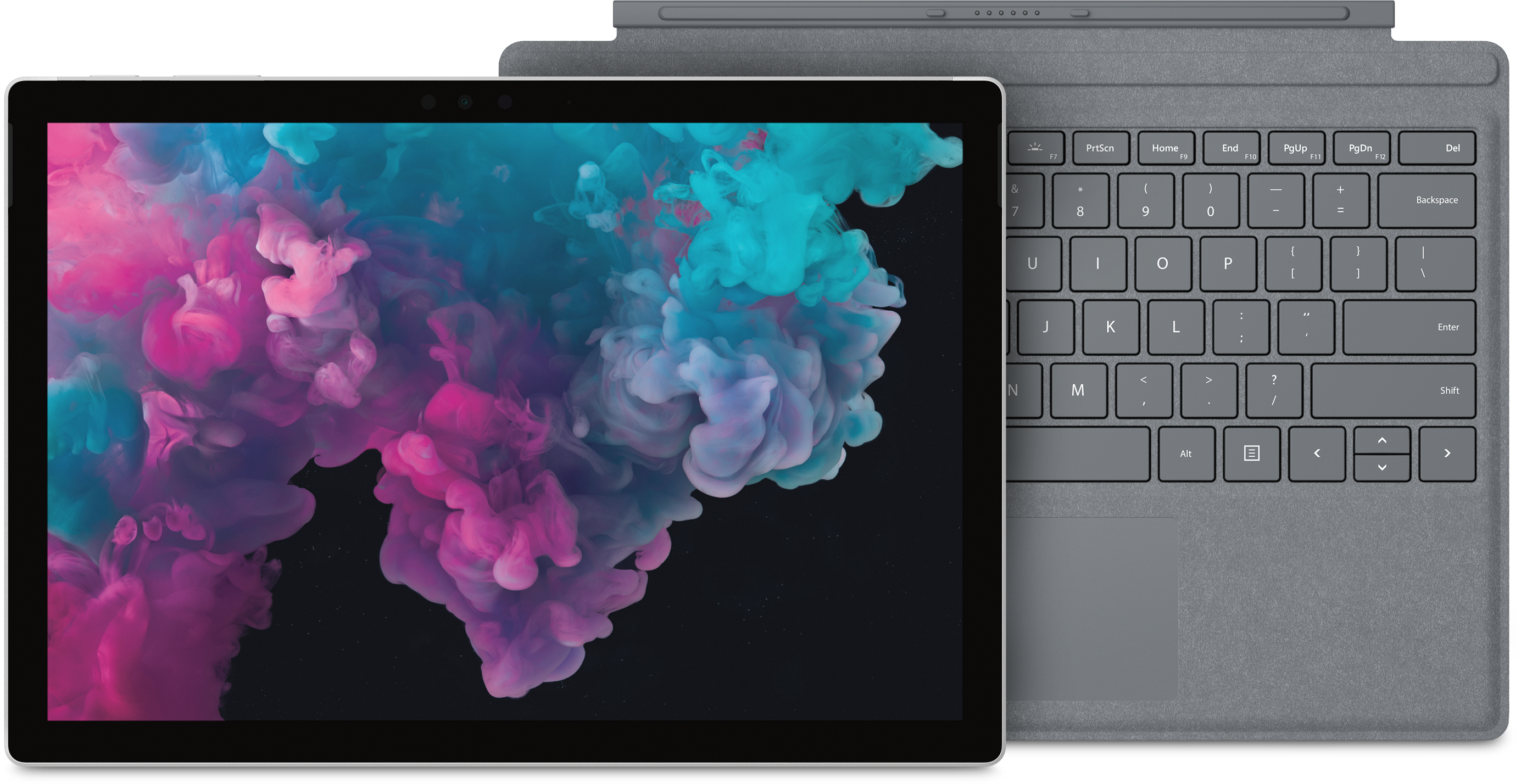 Surface Pro 6 with Platinum Type Cover