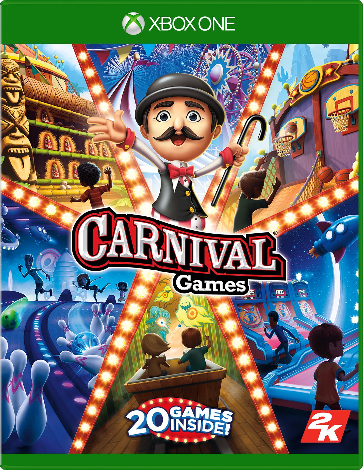 Cover of Carnival Games for Xbox One