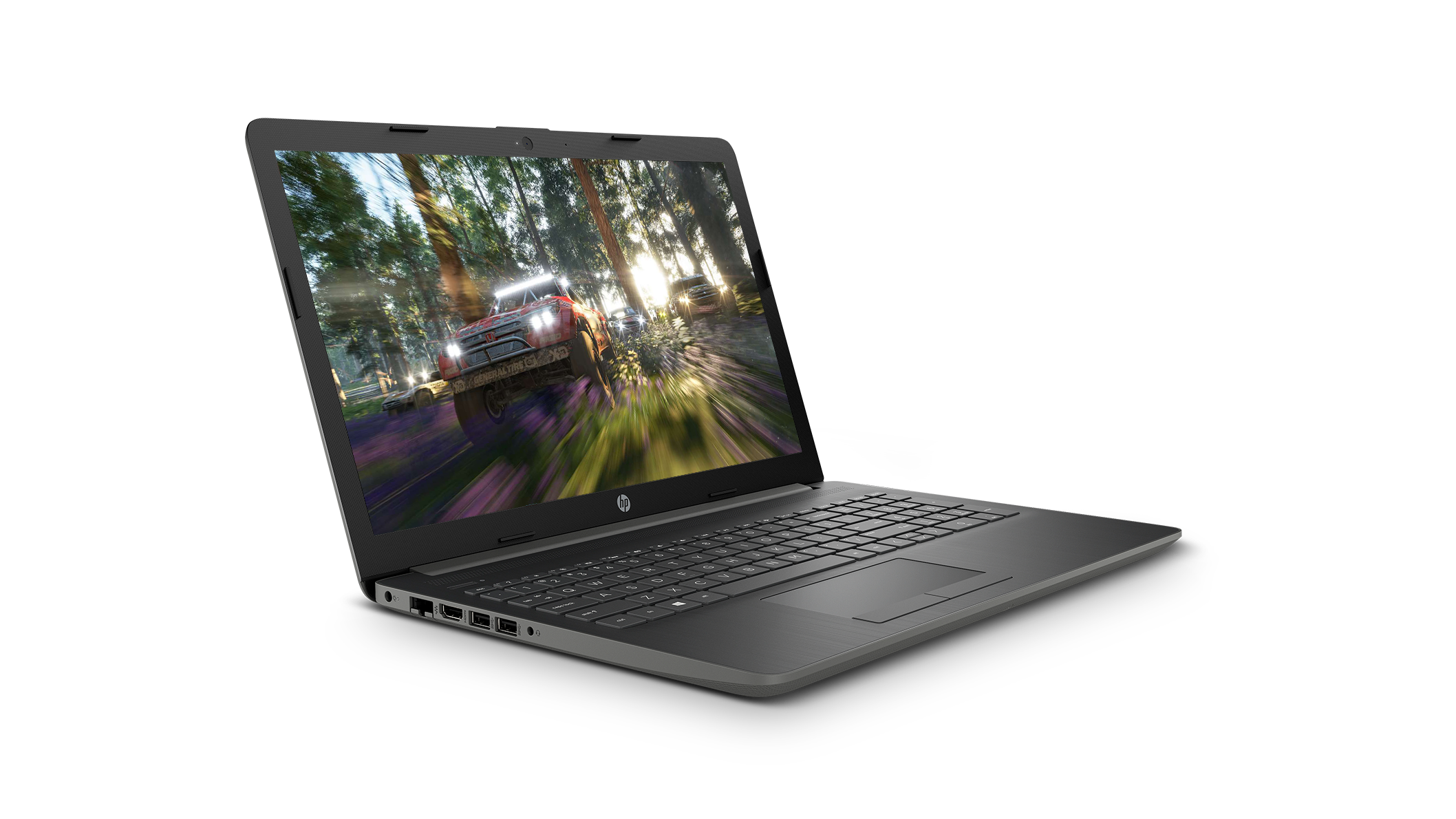 Front right view of the HP 15 laptop