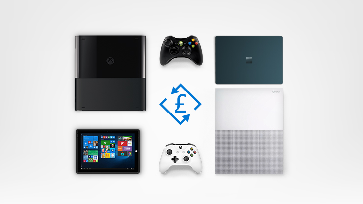 xbox consoles, surface laptop, surface pro, xbox controllers