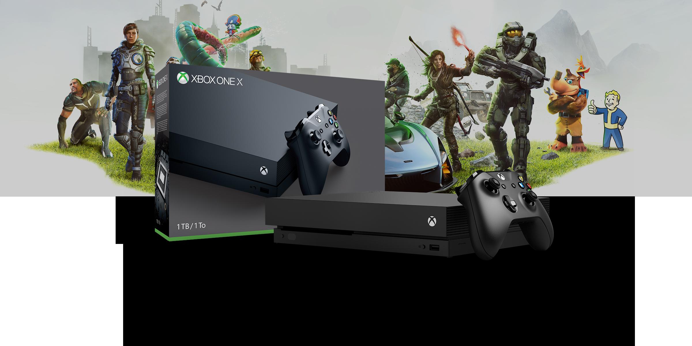 Xbox One X Starter Bundle