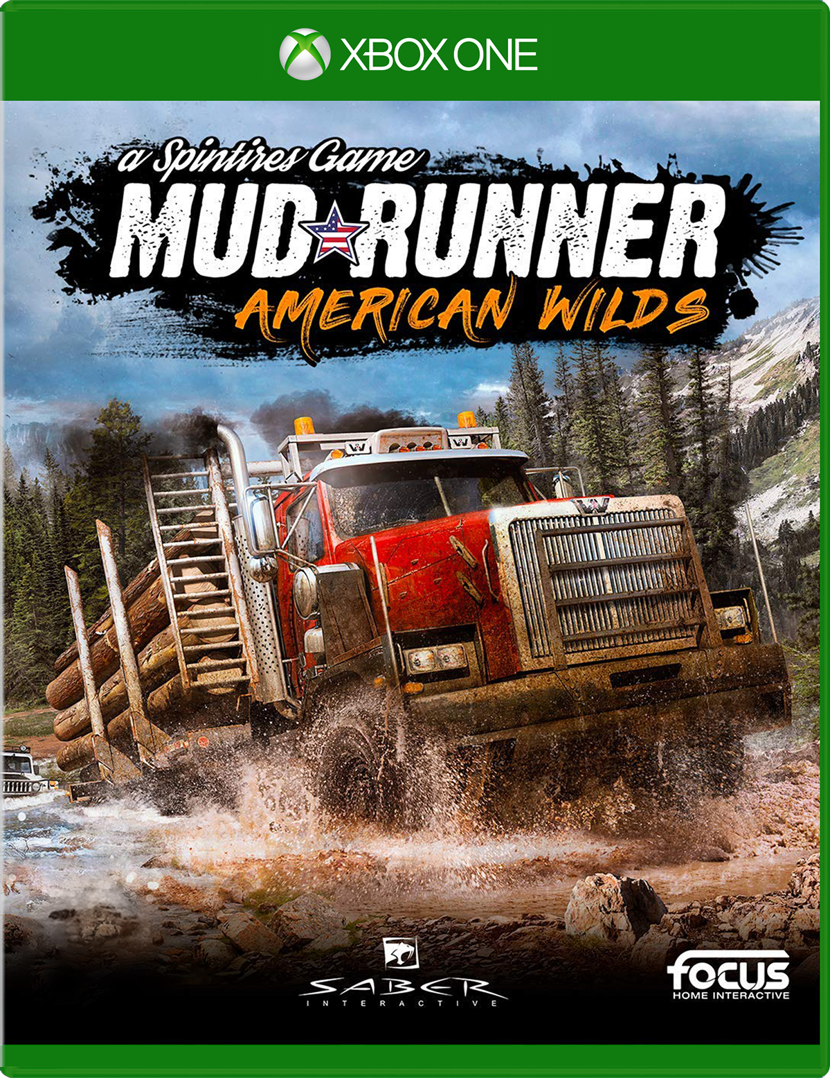 Cover of MudRunner American Wilds for Xbox One