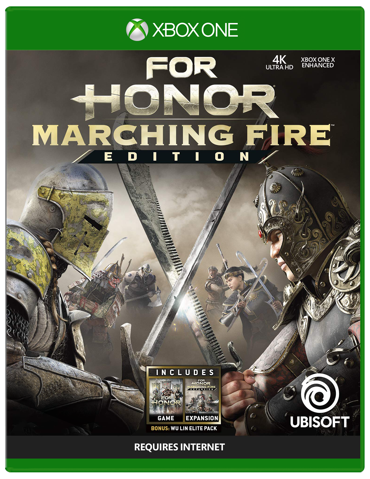 Cover of For Honor Marching Fire Edition for Xbox One