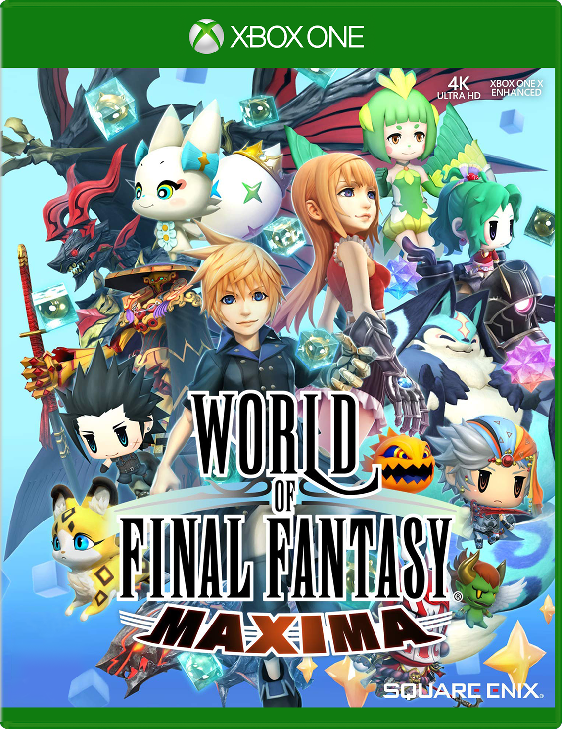 Cover of World of Final Fantasy Maxima for Xbox One