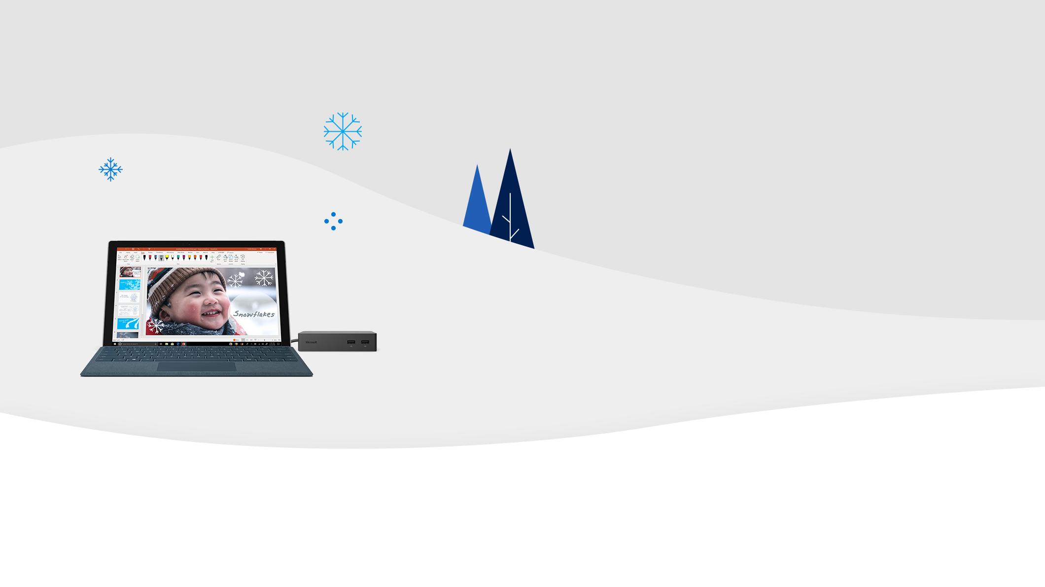 Surface Pro en Surface Dock