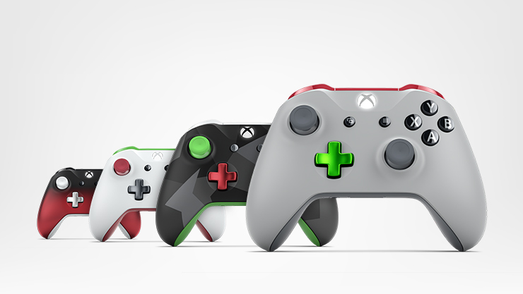 Xbox Design Lab controllers for Xbox One