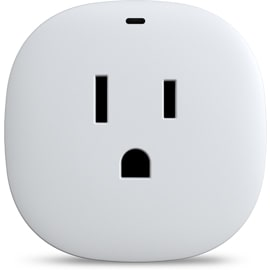 Front view of the Samsung Smartthings Outlet