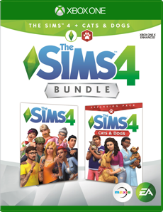 The Sims 4 + The Sims 4 Cats & Dogs Bundle for Xbox One
