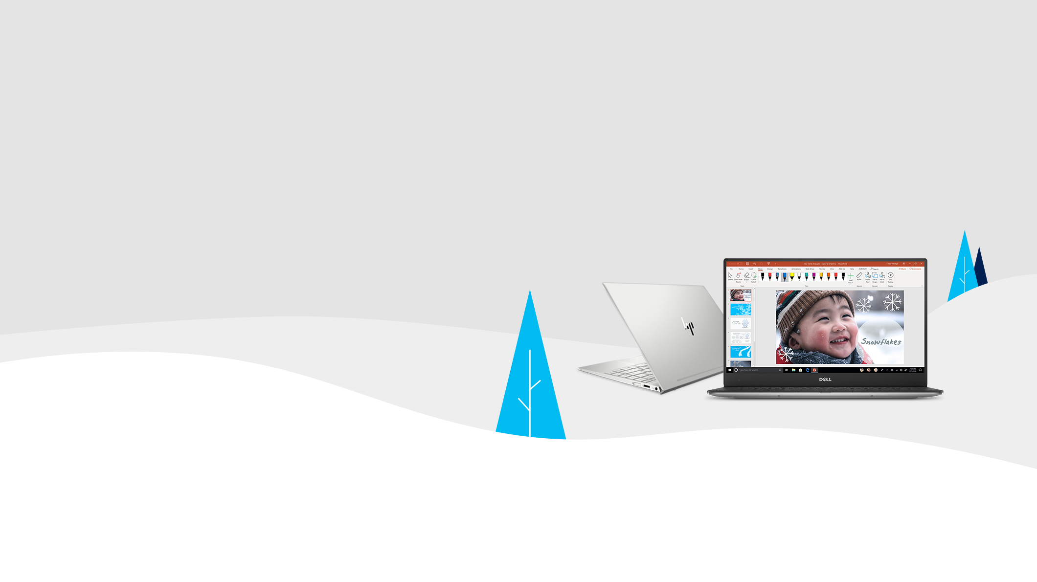 HP laptop, dell laptop