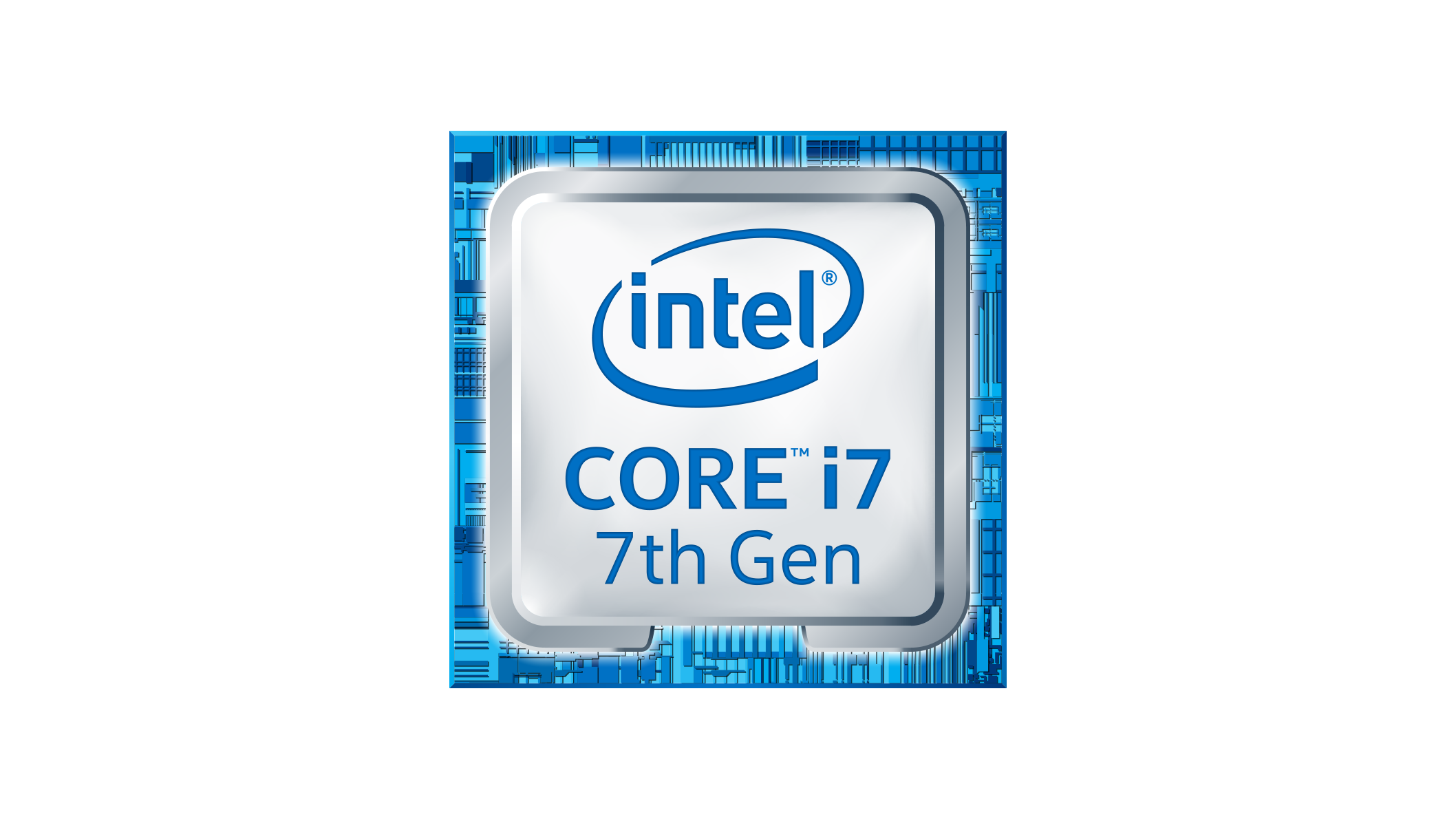 Intel Core i7 7th Gen logo