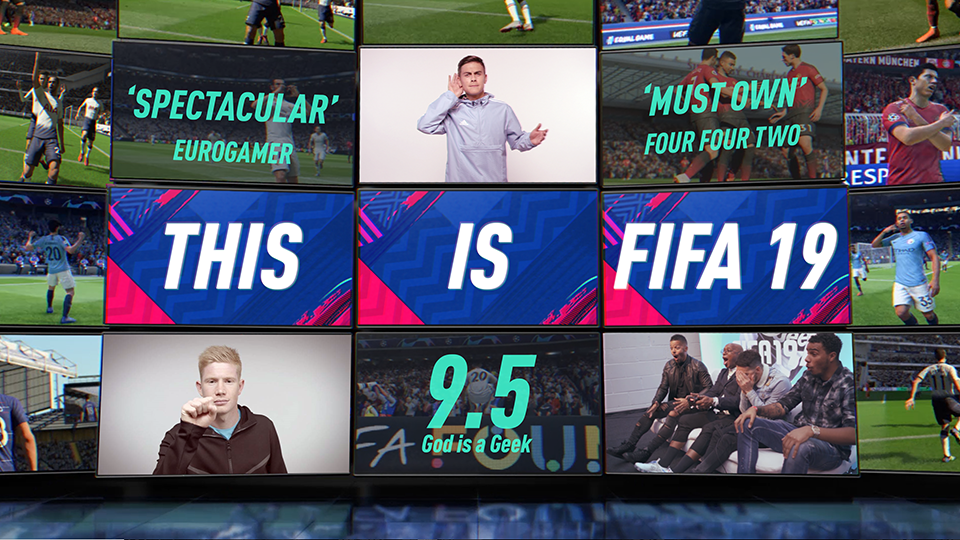Play Several Monitors Featuring Screen Shots From Fifa