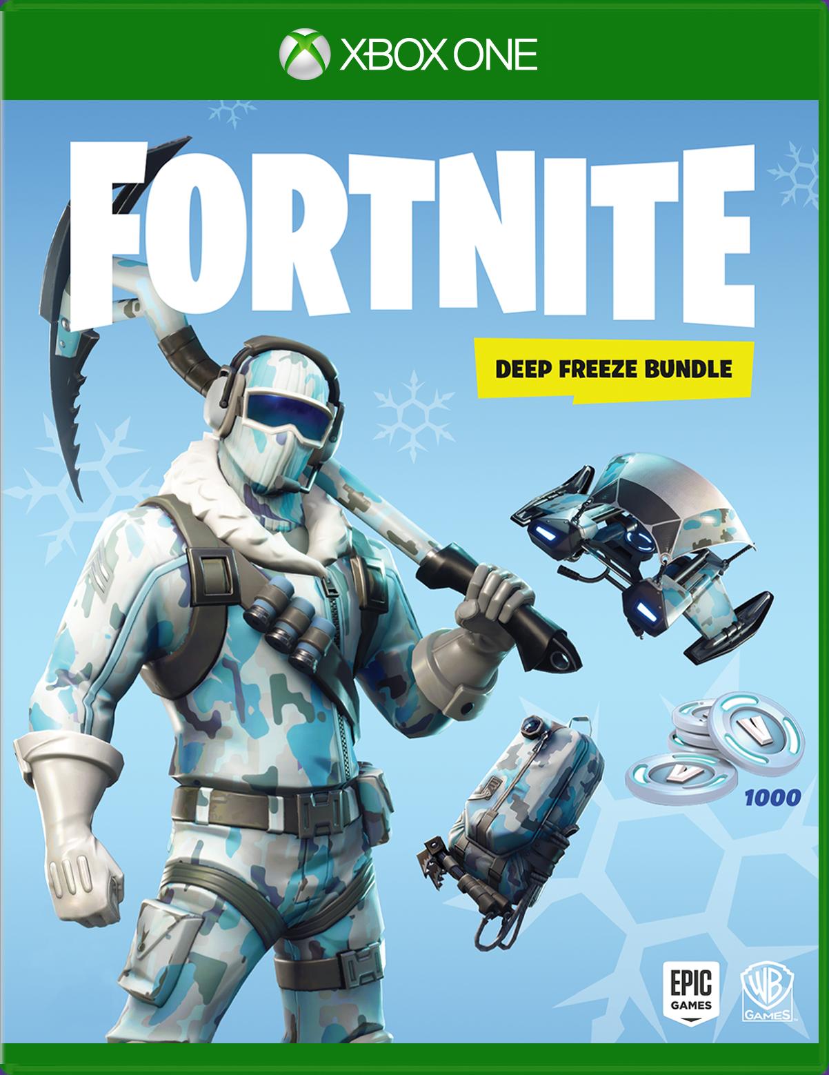 Warner Bros. Fortnite: Deep Freeze Bundle for Xbox One
