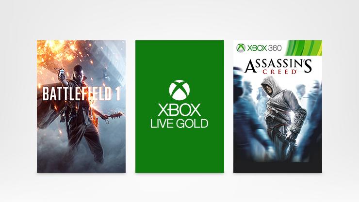 Xbox Live Gold BR