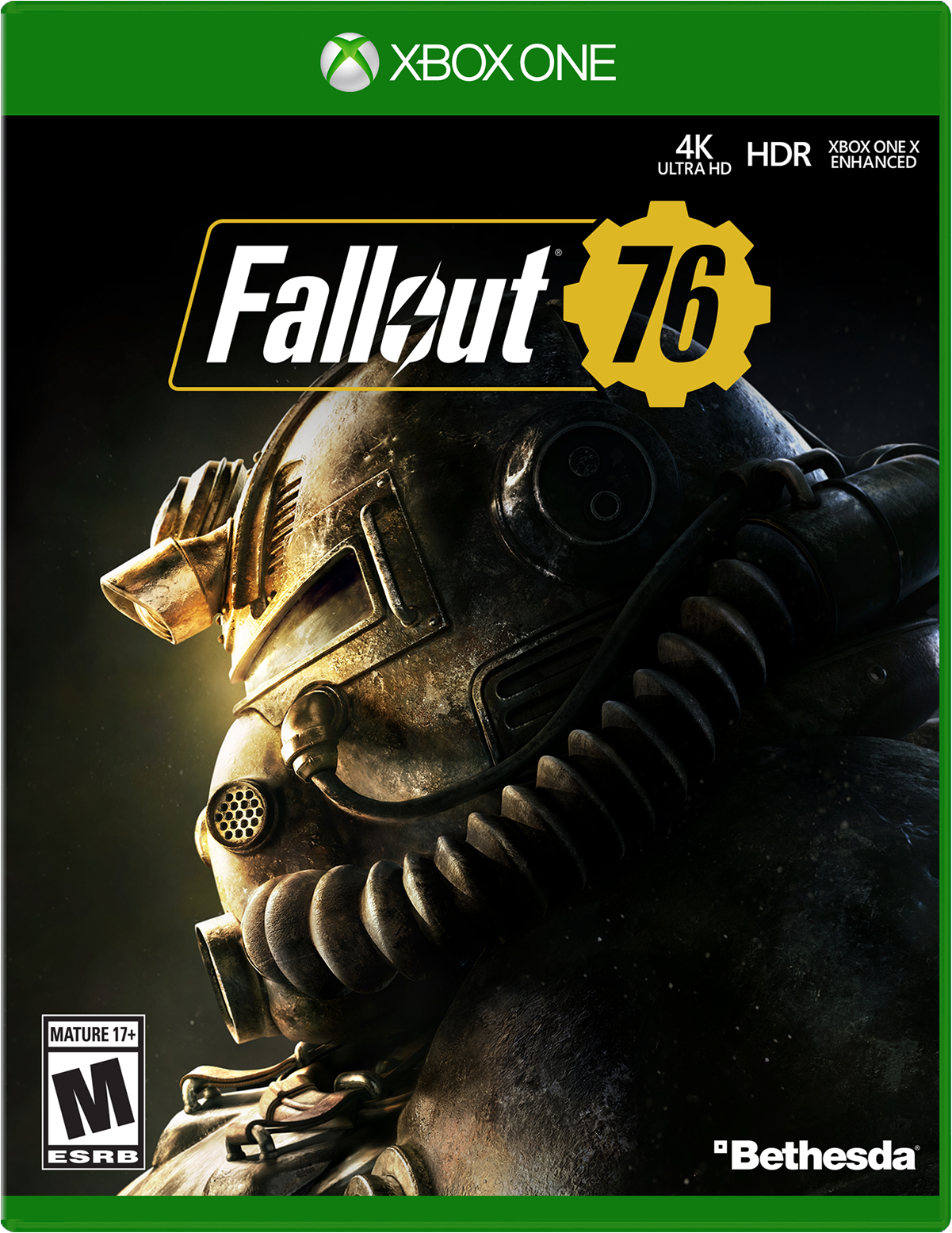 Picture of the box of Fallout 76