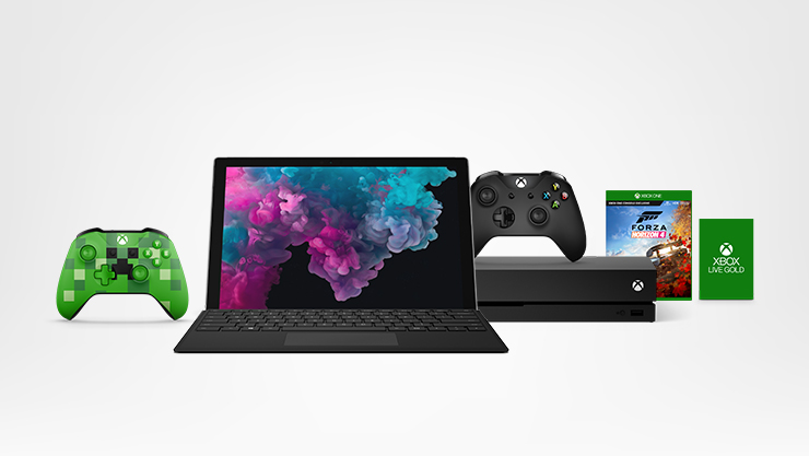 Surface and Xbox