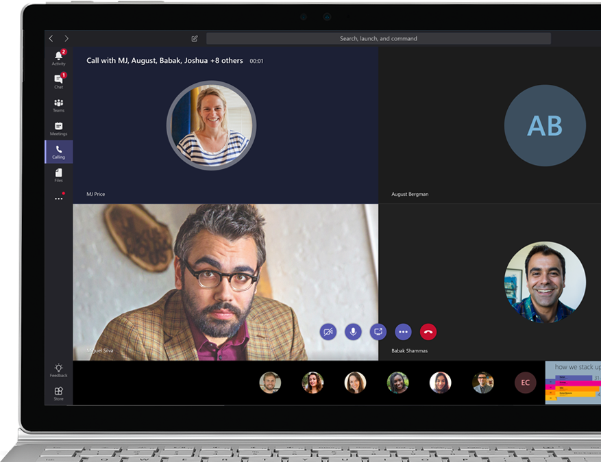 Video Conferencing, Online Meetings | Office 365