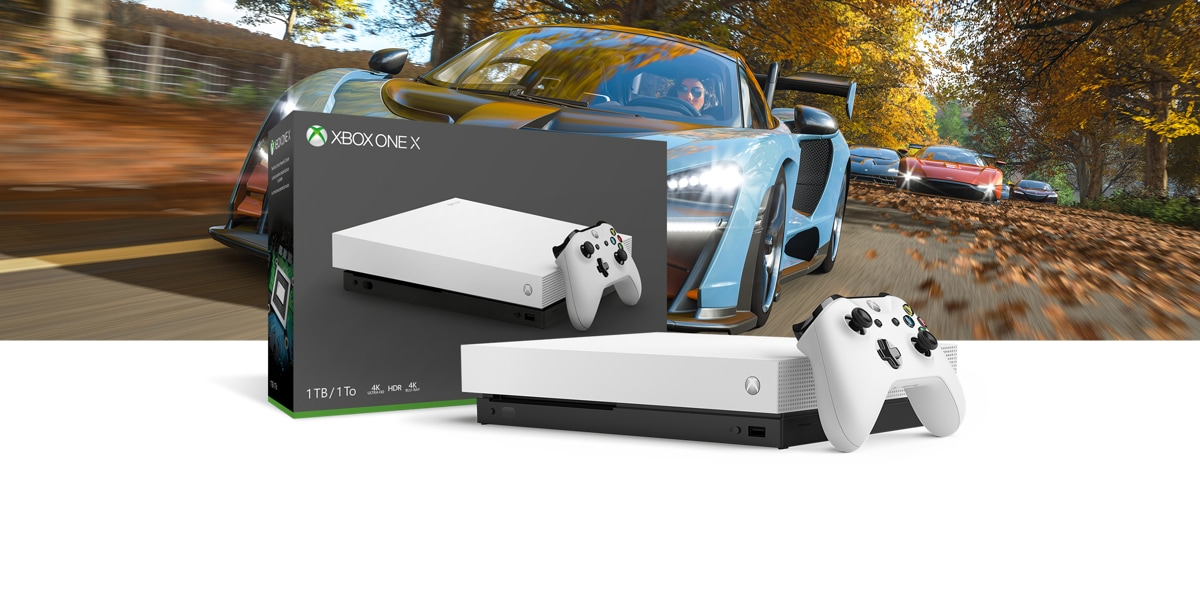 xbox one x robot white special edition forza horizon 4. Black Bedroom Furniture Sets. Home Design Ideas
