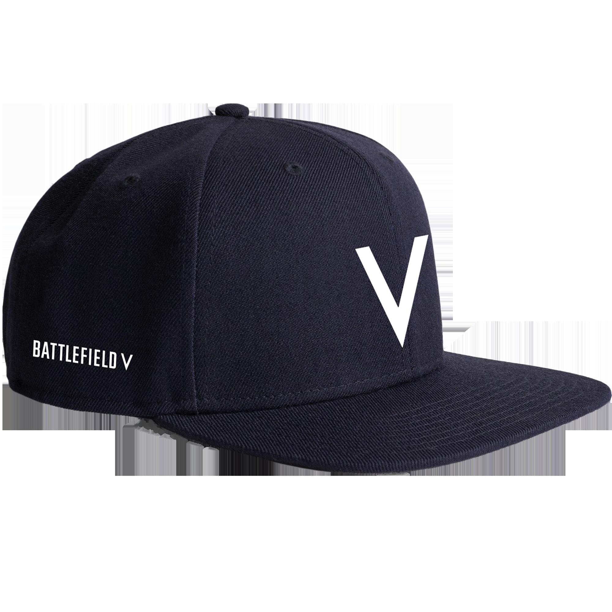 45bc70dcf47 Buy Battlefield V Navy Snapback Hat - Microsoft Store