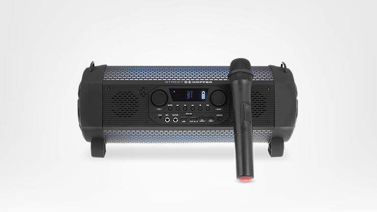 Street Hopper 6 Plus speaker