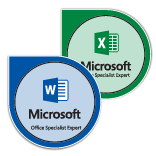 Microsoft Office Specialist Expert Microsoft Office 2016 badge