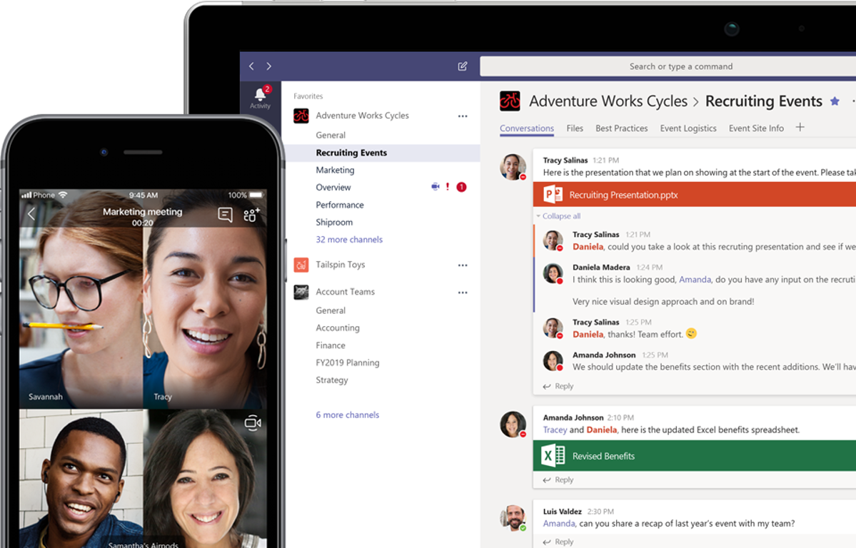 Microsoft Teams – Group Chat software