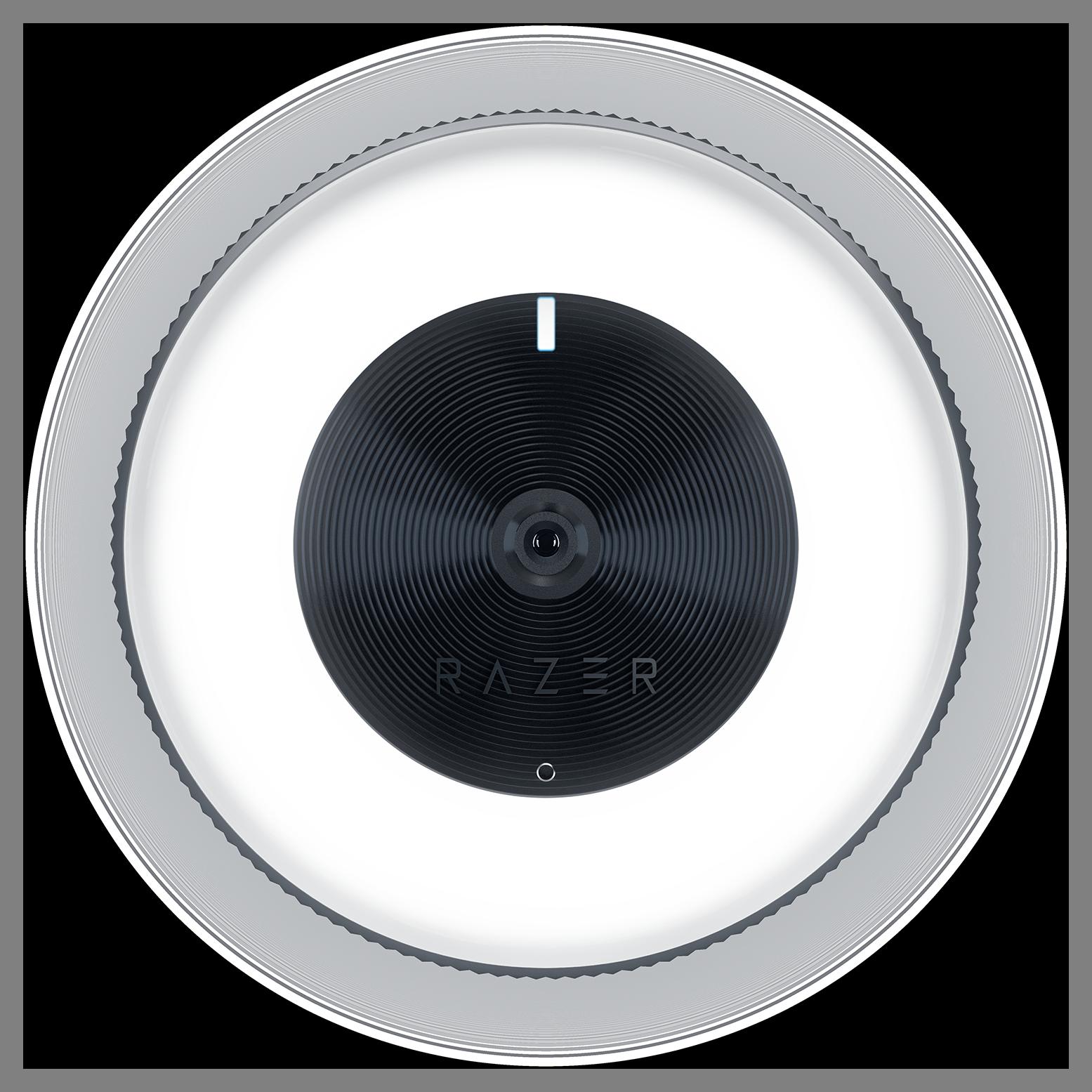 Front view of the Razer Kiyo - Broadcasting Web Camera with Illumination Ring