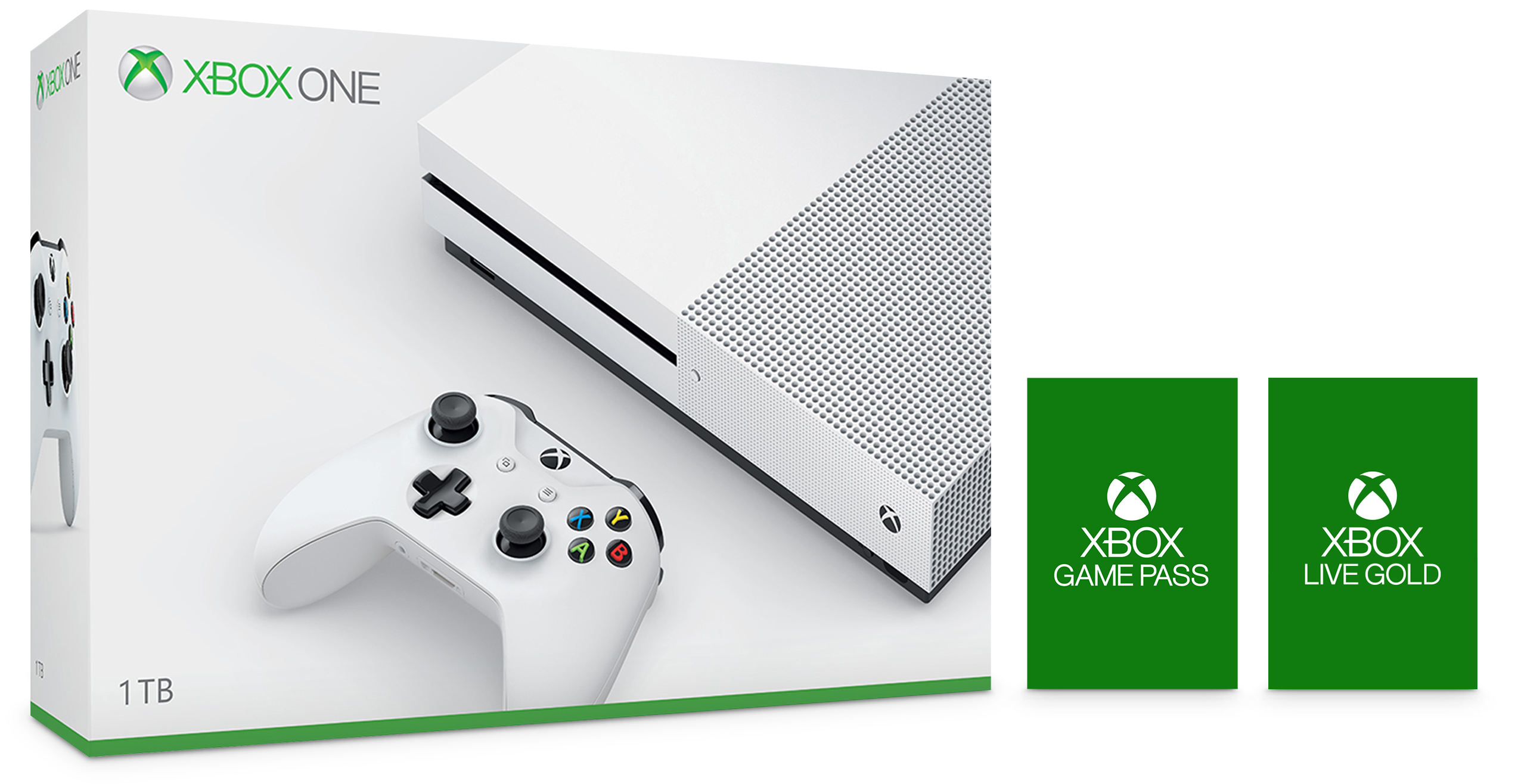 Xbox One S 1TB Console Starter
