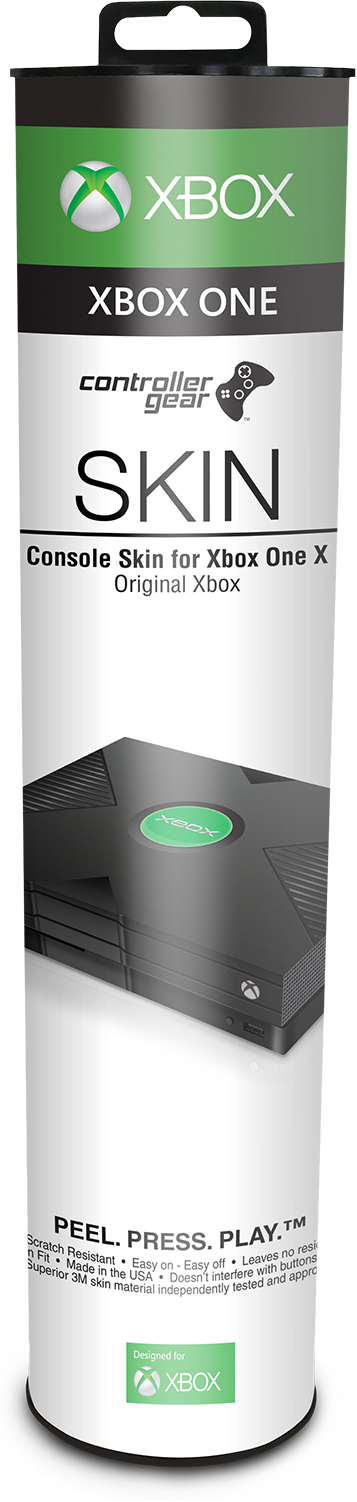 Original Xbox Console Skin in package