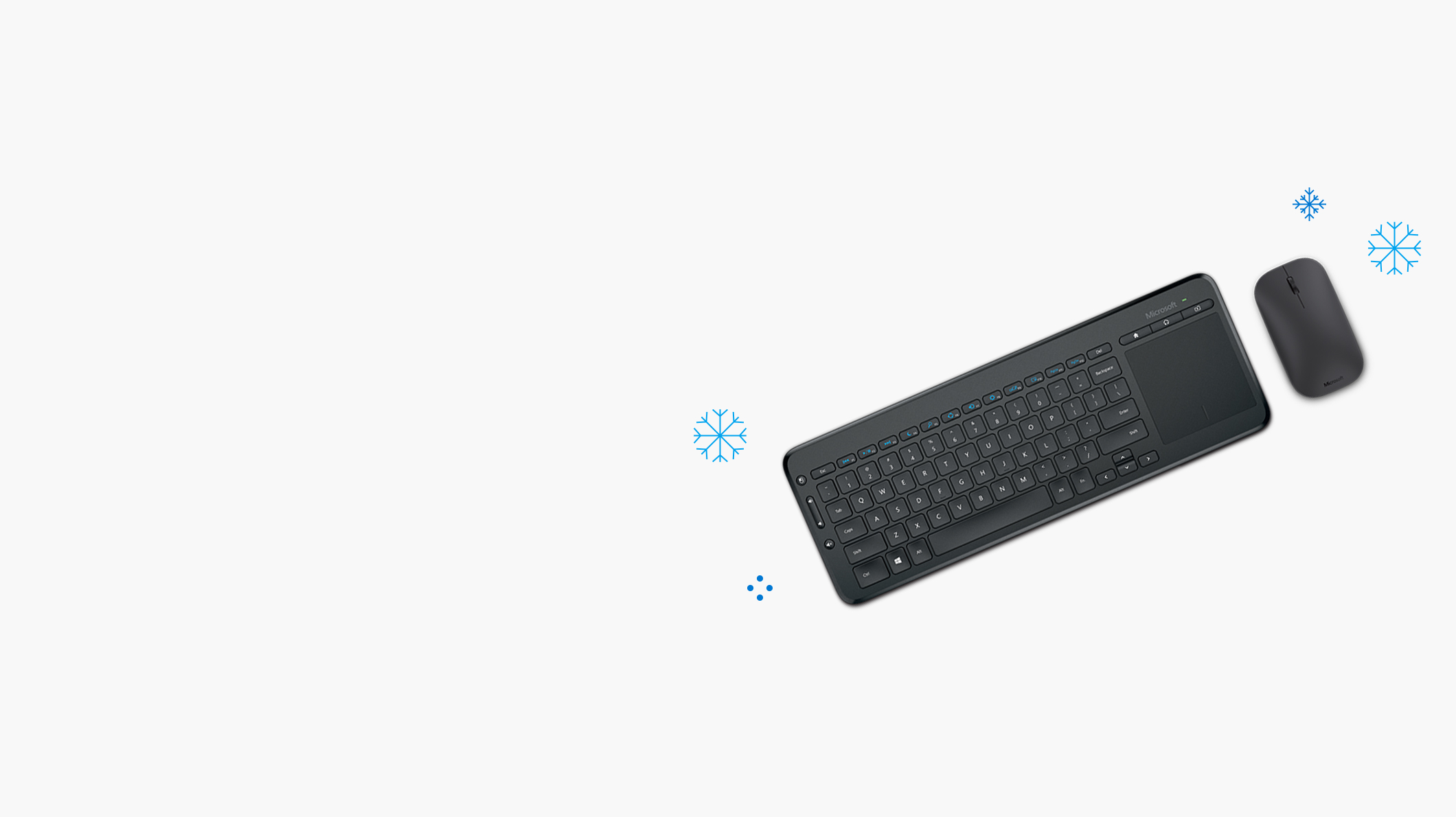 Microsoft Designer Bluetooth Mouse, Microsoft All-in-One Media Keyboard
