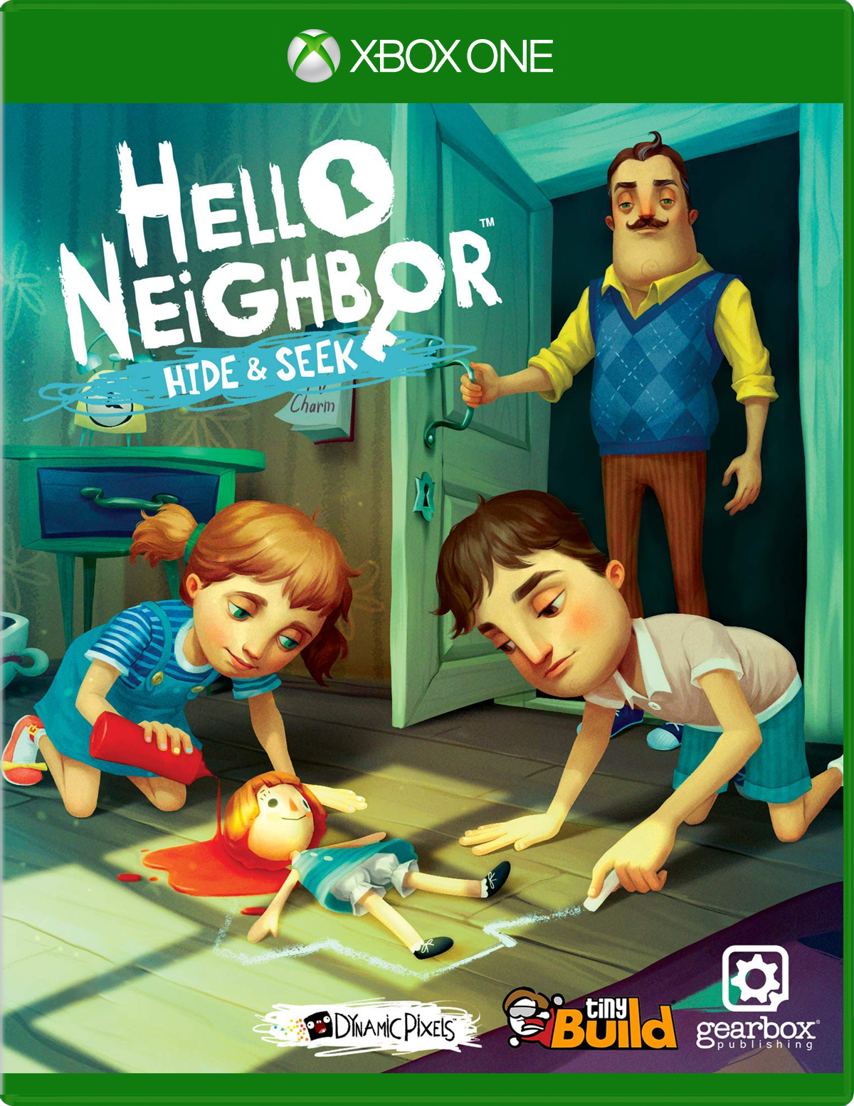 Cover of Hello Neighbor Hide & Seek Xbox One game