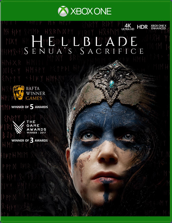 Hellblade: Senua's Sacrifice game box