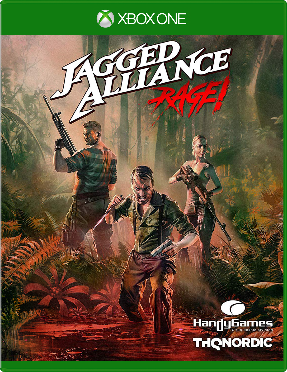 THQ Nordic Jagged Alliance: Rage for Xbox One