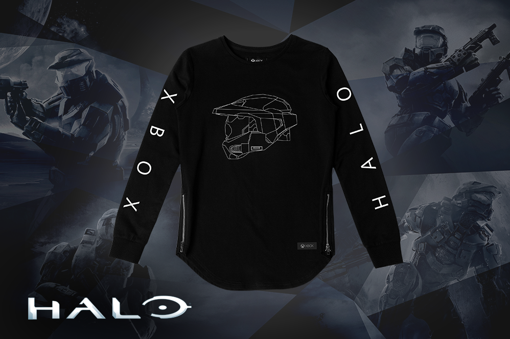 Halo Master Chief Long Sleeve Tee