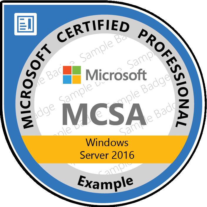 Test Your Skills: Windows Server 2016 Certification | Microsoft Learning