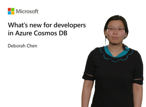 Image thumbnail for What's new for developers in Azure Cosmos DB