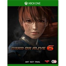 Koei Dead or Alive 6 game box
