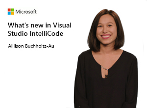 Image thumbnail for What's new in Visual Studio IntelliCode video