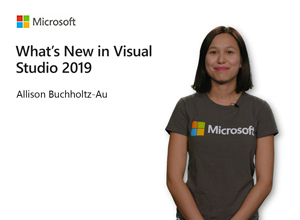 Image thumbnail for What's new in Visual Studio 2019 video