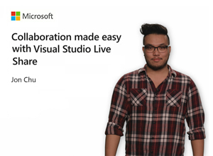 Image thumbnail for Collaboration made easy with Visual Studio Live Share video