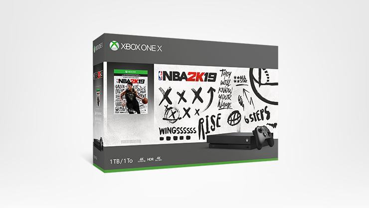 An Xbox One X NBA Bundle