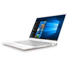 Gold Dell XPS 13 laptop.