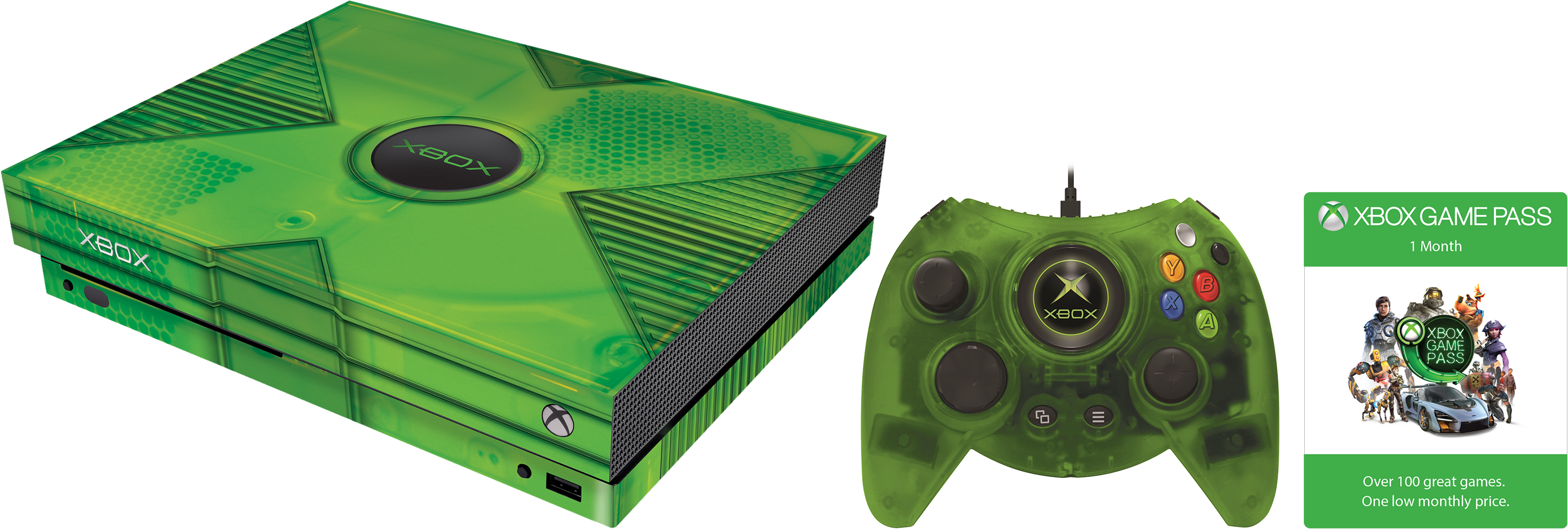 Hyperkin Xbox Classic Pack for Xbox One X.
