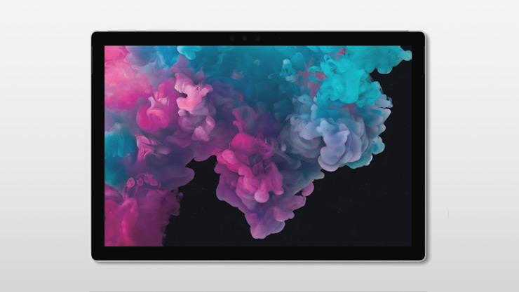 Surface Pro 6 (Platinum) in tablet mode