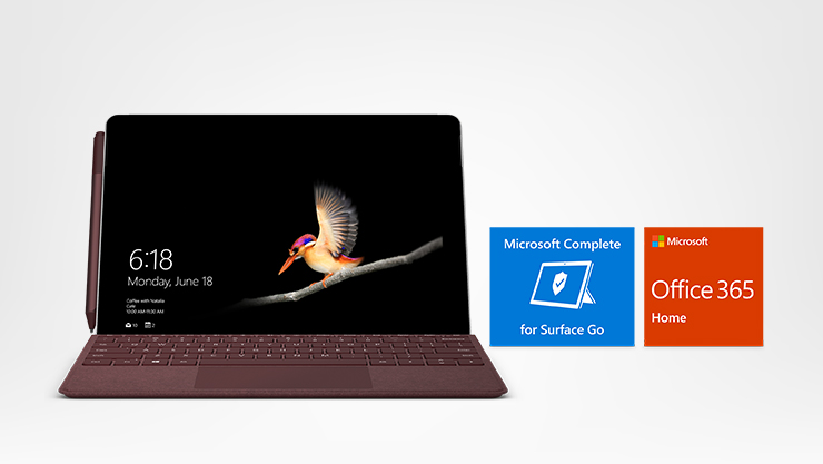Surface Go essential bundle