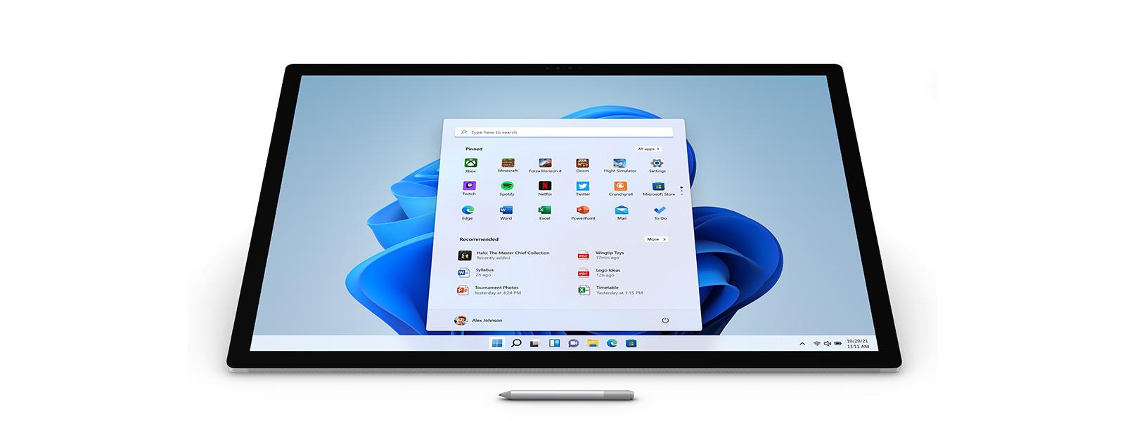 Surface Studio 2 與 Surface 手寫筆